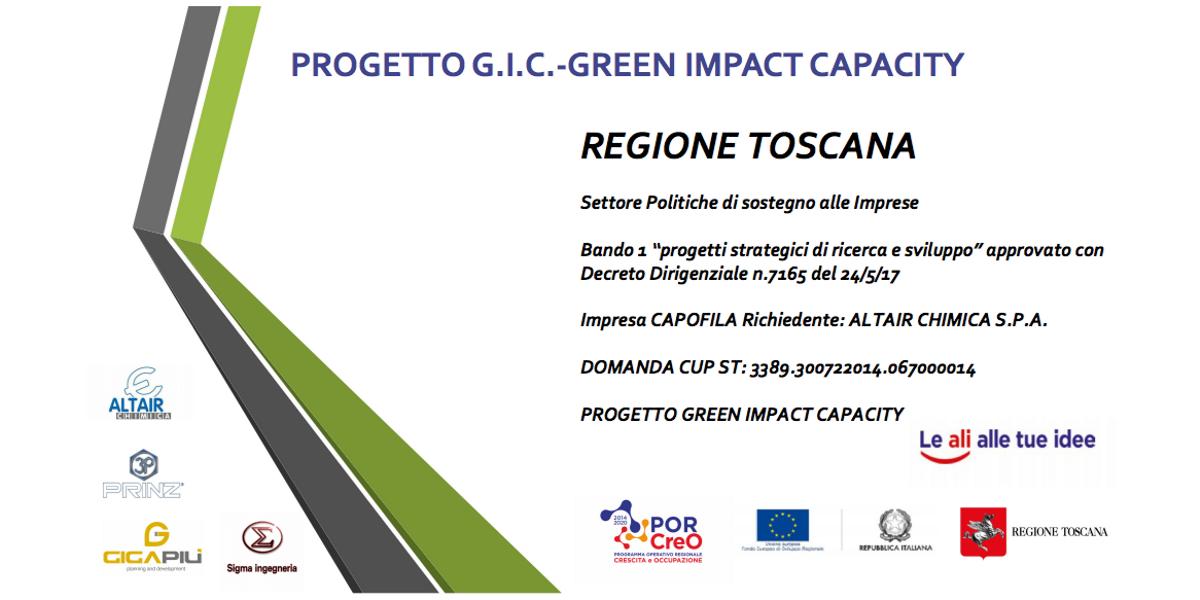 Progetto Di Ricerca E Sviluppo G.R.E.E.N. Impact C.A.P.A.C.I.T.Y. (2018-2019)